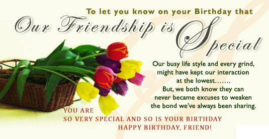 friendship and birthday quotes