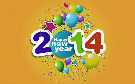 Happy new year 2014 Graphics
