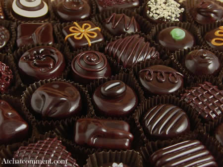 happy new year chocolate comment